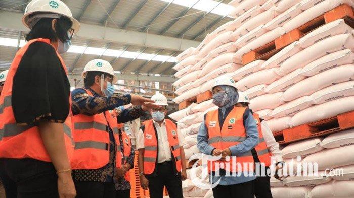 Terjadi Kelangkaan Pupuk, Gubernur Khofifah Sebut Butuh Tambahan Kuota Pupuk Bersubsidi di Jatim