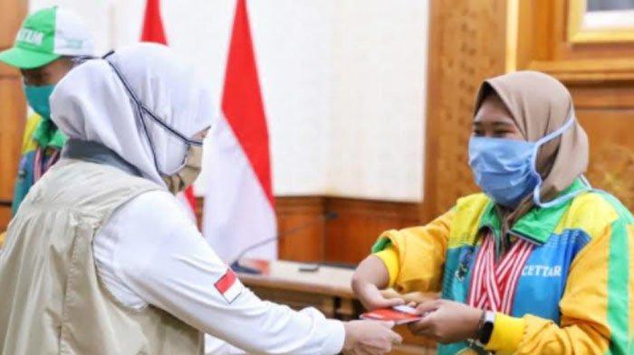 Gubernur Jawa Timur Khofifah Dorong Penyandang Disabilitas Manfaatkan Ekonomi Digital