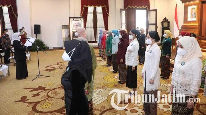 Gubernur Khofifah Pastikan Tiap Desa Miliki PAUD, Pesankan Bunda PAUD Turut Bantu Penurunan Stunting