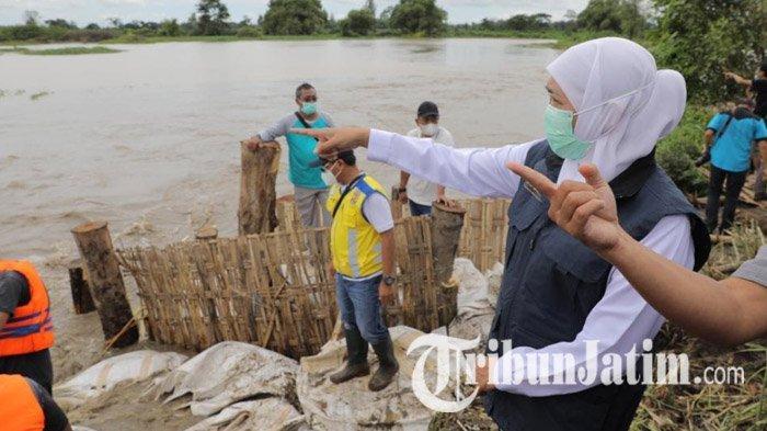 Atasi Banjir di Jombang, Perbaikan Tanggul Kali Konto Ditarget Bisa Selesai dalam 3 Hari