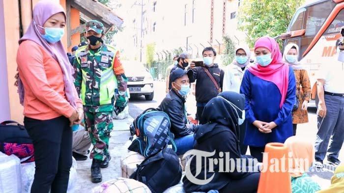 Sudah 4 Ribu Lebih Pekerja Migran Pulang Kampung ke Jatim, Ditemukan 57 Orang Positif Covid-19