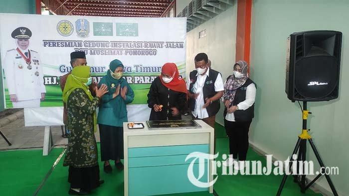 Gubernur Khofifah Resmikan IRJ RSU Muslimat Ponorogo: Tingkatkan Layanan Kesehatan Masyarakat