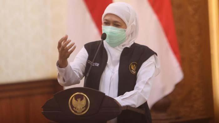 Gubernur Khofifah Tanggapi Ramainya Kasus Bupati Jember Terima Honor Pemakaman Jenazah Covid-19