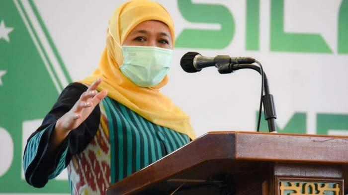 Progres Vaksinasi Guru SMA/SMK/SLB Jatim Sudah 68 Persen, Khofifah Minta Dipercepat Sebelum 5 Juli