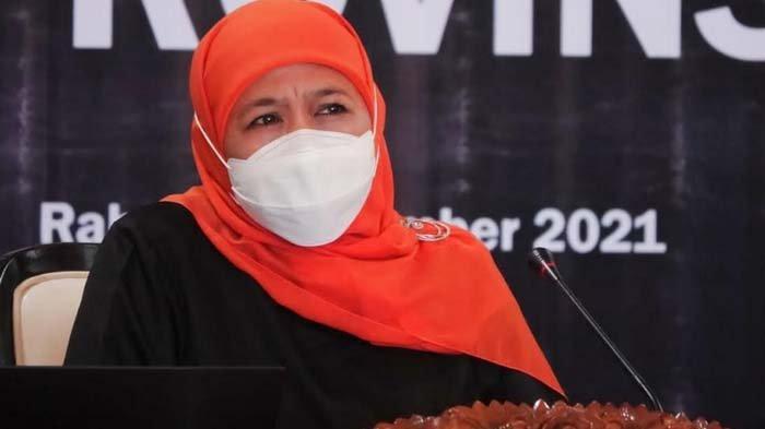 Jatim Sudah Zero PPKM Level 4, Gubernur Khofifah: Tidak Ada Lagi Kabupaten/ Kota yang Masuk Level 4