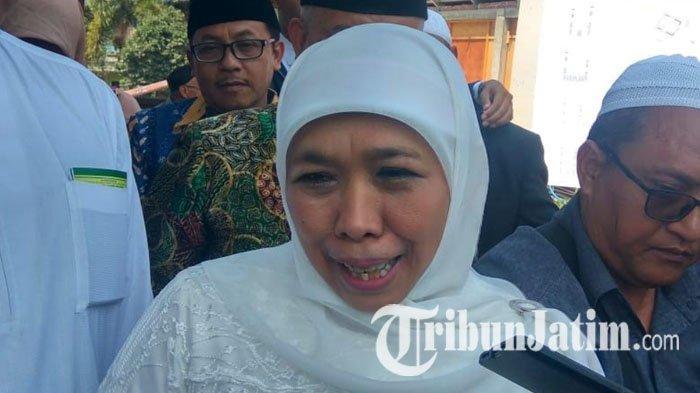 Hati Gubernur Khofifah Senang Lihat Foto Pertemuan Jokowi & Prabowo: Alhamdulillah Bisa Rekonsiliasi