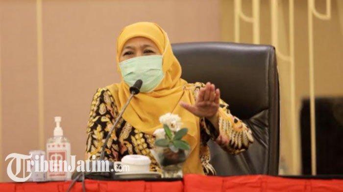 Gubernur Khofifah Ucapkan Selamat pada Tri Rismaharini yang Ditunjuk Presiden Jokowi Menjadi Mensos
