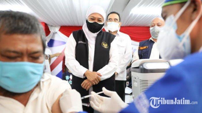 Jatim Bebas Zona Merah Covid-19, Gubernur Khofifah: Terima Kasih kepada Seluruh Lapisan Masyarakat