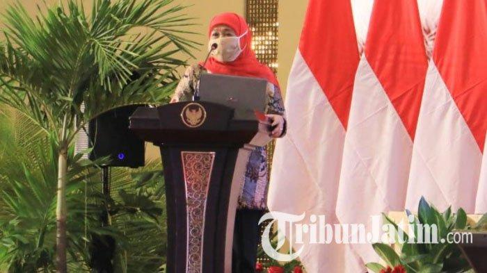 Gubernur Khofifah Minta Pemda di Jawa Timur Dorong Serapan Anggaran untuk Pulihkan Ekonomi