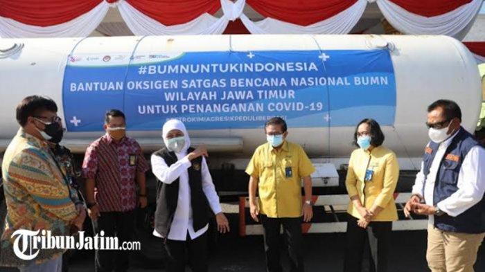 BERITA TERPOPULER JATIM: Loker Charoen Pokphand - Pengisian Tabung Oksigen Gratis untuk Warga Jatim