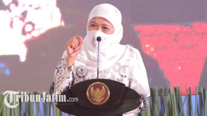 PPKM Jatim Diperpanjang di 17 Daerah, Gubernur Khofifah Terbitkan Kepgub Baru