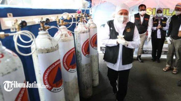 Depo Isi Ulang Tabung Oksigen Gratis di Surabaya Resmi Dibuka Hari Ini, Bisa Diakses 24 Jam