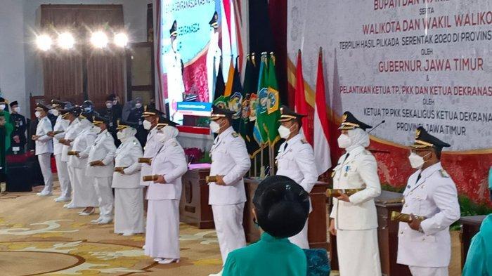 Gubernur Khofifah Sebut Partisipasi Pilkada Serentak Saat Pandemi di Jatim 67,68 Persen