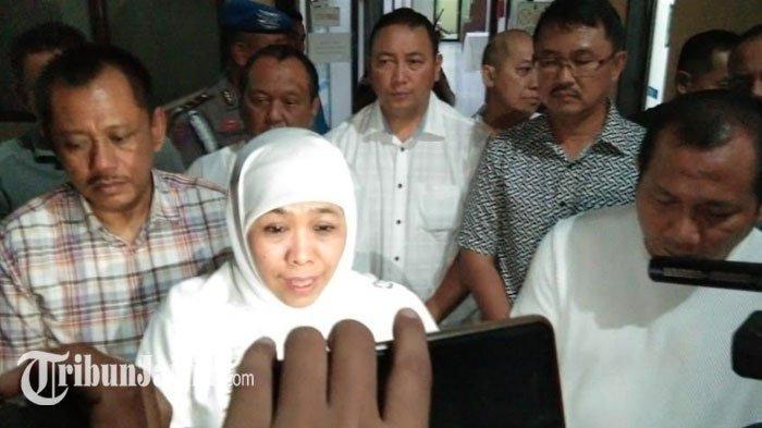 Pasca Penyerangan Polsek Wonokromo, Khofifah Minta Pemda di Jatim Perbanyak CCTV di Tempat Publik