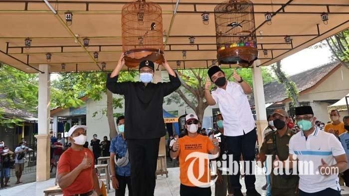 Terapkan Prokes Covid-19 Ketat, Gus Ipul Apresiasi Lomba Burung Pertama di Kota Pasuruan