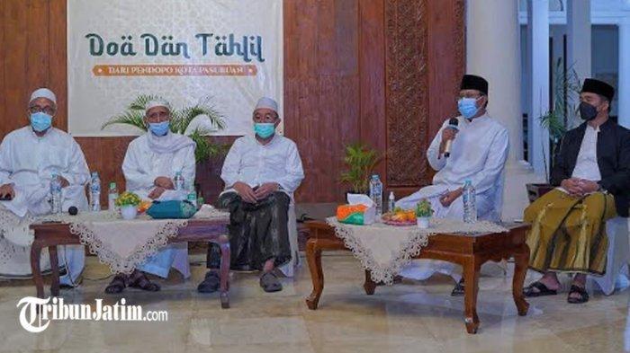 7 Hari Wafatnya KH Zainuddin, Kota Pasuruan Gelar Tahlil dan Doa Bersama untuk Bangsa