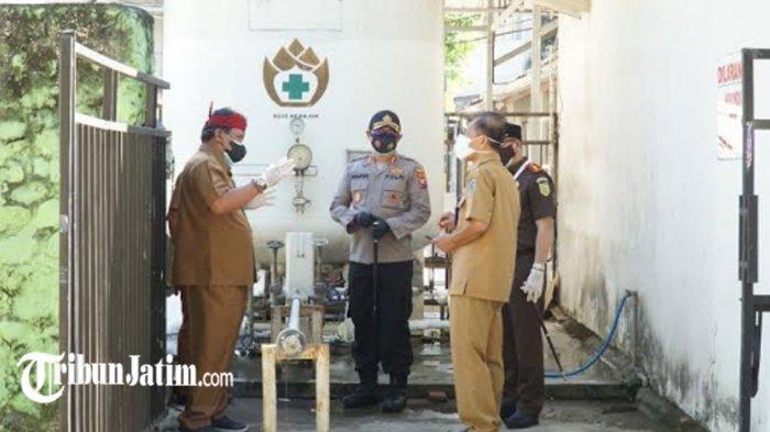 Cek Ketersediaan Tabung Oksigen di RS Rujukan Covid-19, Plt Bupati Nganjuk: Alhamdulillah Aman