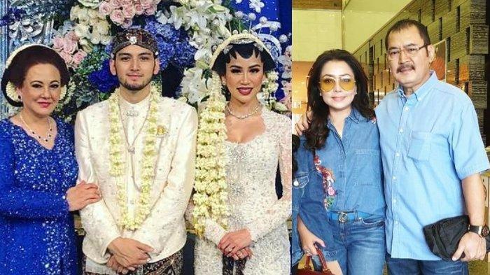 Beda Gaya Halimah dan Mayangsari saat Kumpul Keluarga Cendana, Dress Velvet hingga Kebaya Anggun