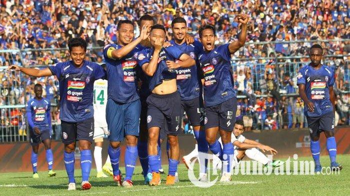 Terhindar Dari Kekalahan, Arema FC Berhasil Tahan Imbang Persipura Dengan Skor 2-2
