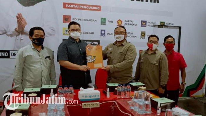 KPU Kediri Resmi Tetapkan Pasangan Mas Dhito dan Mbak Dewi Menjadi Calon Bupati dalam Pilkada 2020