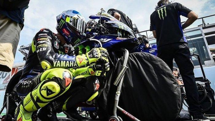 Jelang MotoGP Eropa - Nasib Valentino Rossi Belum Jelas, Yamaha Siapkan Pembalap Pengganti
