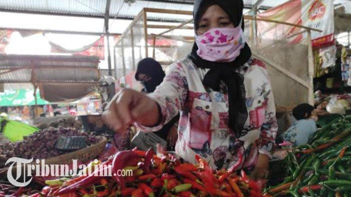 Harga Cabai Rawit di Ponorogo Naik 100 Persen, Pedagang Merugi karena Banyak yang Busuk