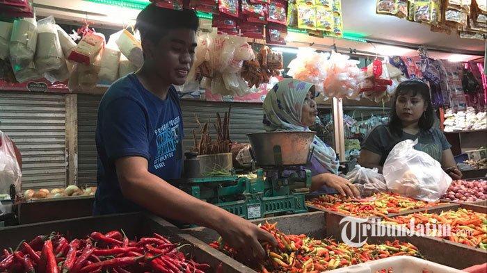 Sebulan Lebih, Harga Cabai Rawit di Pasar Wonokromo Surabaya Tembus Rp 70 Ribu Per Kilogram