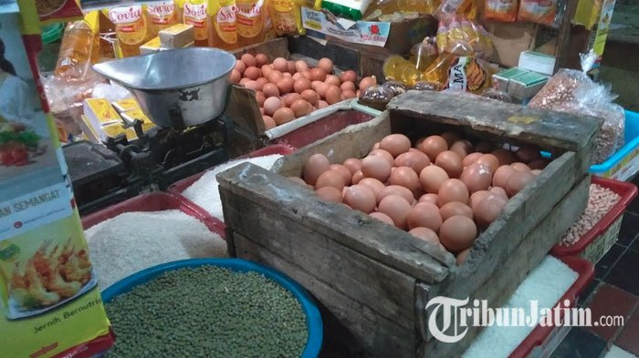 Jelangh Ramadan, Harga Telur dan Tepung di Pasar Tradisonal Surabaya Melambung