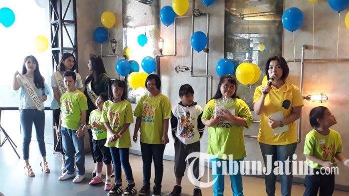 Finalis Miss Indonesia Jadi Sahabat Anak-anak Down Syndrome Rayakan Hari Down Syndrome 2017