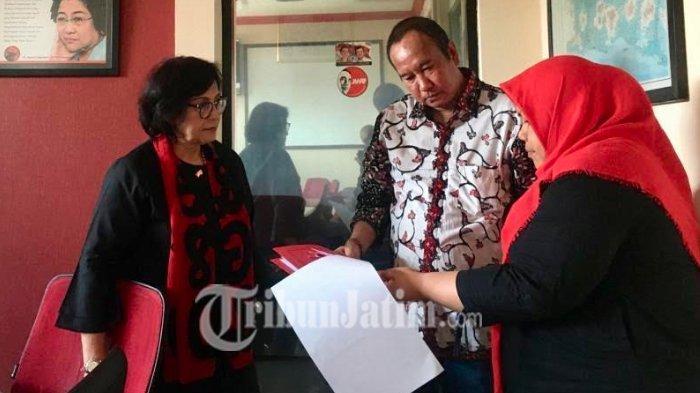 Haries Purwoko Daftar Calon Wakil Wali Kota Surabaya, 'Lanjutkan Kemajuan Era Tri Rismaharini'
