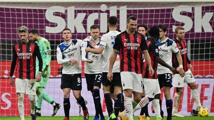 Update Klasemen Liga Italia - Dibantai Lazio, Milan Tertahan di Zona Liga Europa, Napoli ke 3 Besar