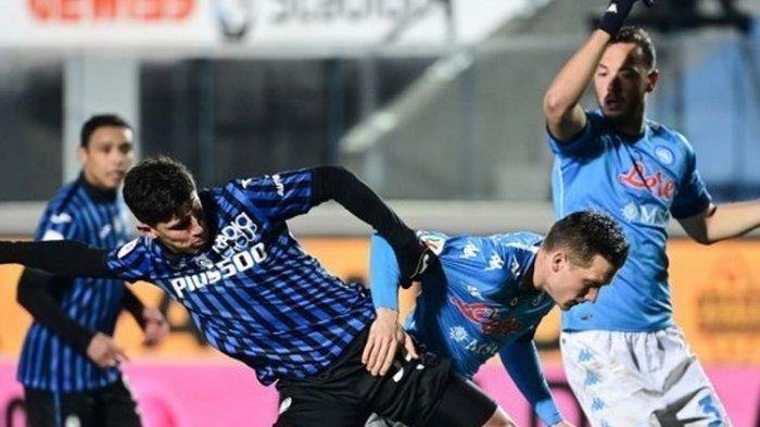 Hasil Atalanta Vs Napoli, La Dea Jumpa Juventus di Final Coppa Italia