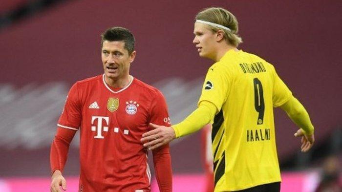 Menderita di Awal Laga, Bayern Muenchen Sukses Comeback atas Dortmund Berkat Hattrick Lewandowski