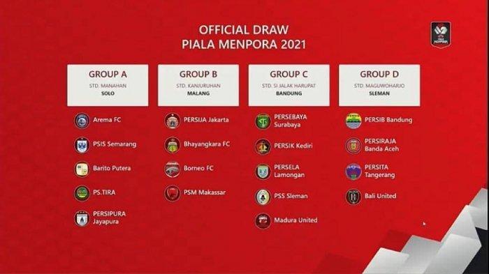 PT LIB: Tim Laga Pembuka Piala Menpora 2021 Ditentukan Besok