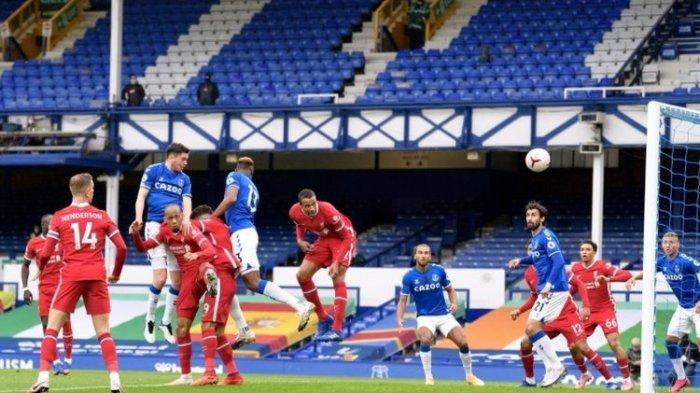 Hasil Everton Vs Liverpool, Gol ke-100 Mo Salah Gagal Antarkan The Reds Raih Kemenangan