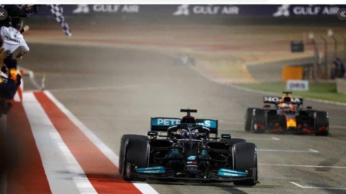 Hasil F1 GP Bahrain 2021 - Hamilton Podium Utama, Debut Putra Michael Schumacher Berakhir Pahit