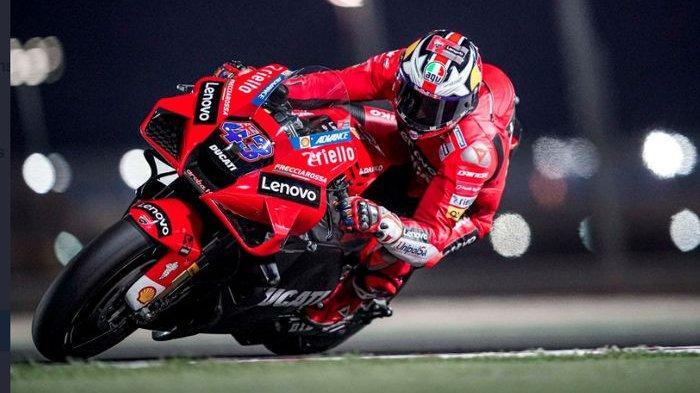 Hasil FP2 MotoGP Doha 2021 - Roket Ducati Tak Terkejar, Valentino Rossi Terlempar dari 10 Besar