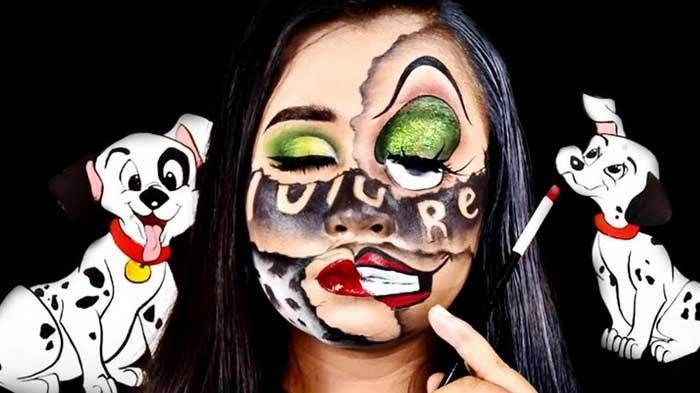 Kenalkan Eksistensi Kartun di Indonesia Lewat Makeup Karakter Karya Seniman Ninda Aviv