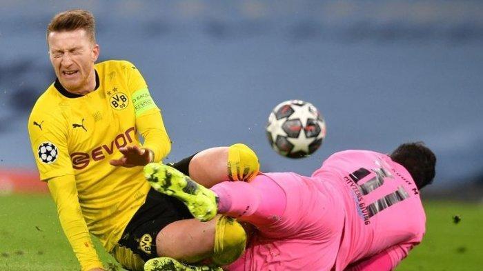 Hasil Liga Champions - Rekor Clean Sheet Manchester City Buyar di Tangan Kapten Dortmund