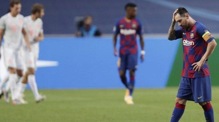 Hasil Liga Champions - Lionel Messi Telan Pil Pahit, Bayern Bantai Barcelona 8-2 dan Lolos Semifinal