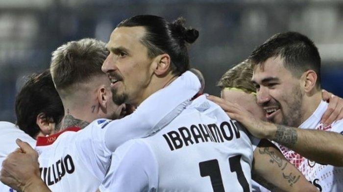 Ibrahimovich Unjuk Gigi, AC Milan Bekuk Fiorentina