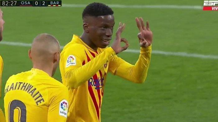 Cetak Gol Perdana, Wonderkid Mahal Barcelona Bawa Blaugrana Lumat Osasuna, El Barca Tempel Atletico