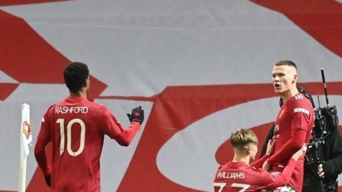 Hasil Man United Vs West Ham - Gol Semata Wayang McTominay Bawa Setan Merah ke 8 Besar Piala FA