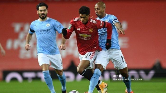 Jadwal dan Link Live Streaming Manchester City Vs Manchester United, Kick Off Pukul 23.30 WIB