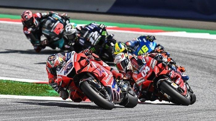 Hasil Tes 3 MotoGP Qatar 2021 - Jack Miller Tercepat, Duo Yamaha Tembus 3 Besar, Rossi Tak Berdaya