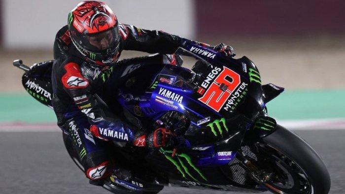Starting Grid MotoGP Spanyol 2021, Quartararo Terdepan, Marquez dan Rossi Kompak Start dari Belakang