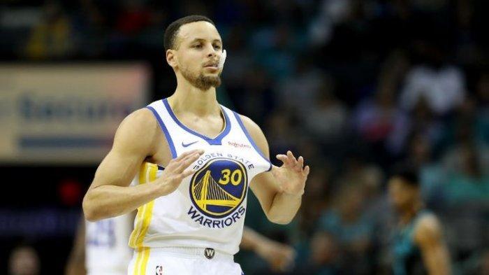 Hasil NBA - Stephen Curry Moncer, Golden State Warriors Taklukkan Sang Juara Bertahan