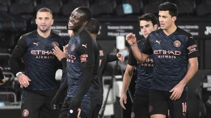 Manchester City Petik Kemenangan 17 Laga Beruntun Usai Taklukan Everton Pada Laga Tunda Liga Inggris