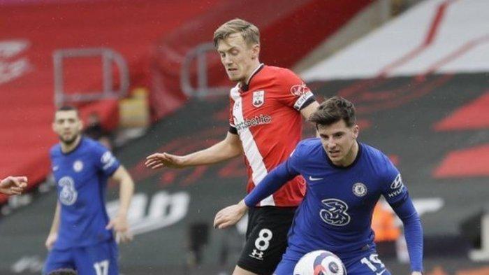 Hasil Southampton Vs Chelsea - Penalti Mason Mount Selamatkan The Blues dari Kekalahan