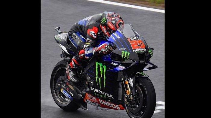 Hasil Kualifikasi MotoGP Spanyol, Quartararo Start Terdepan, Marquez dan Rossi Start dari Posisi Ini